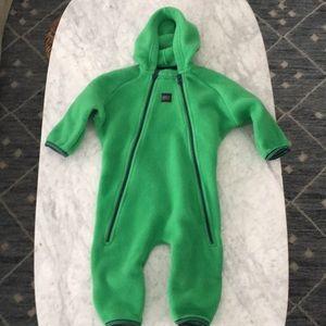 Other - MEC fleece bunting suit -green